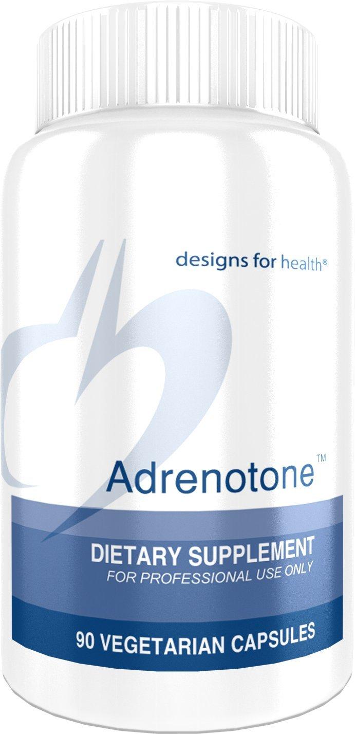 Designs for Health Adrenotone - Adrenal Support Formula with Licorice (90 Capsules)
