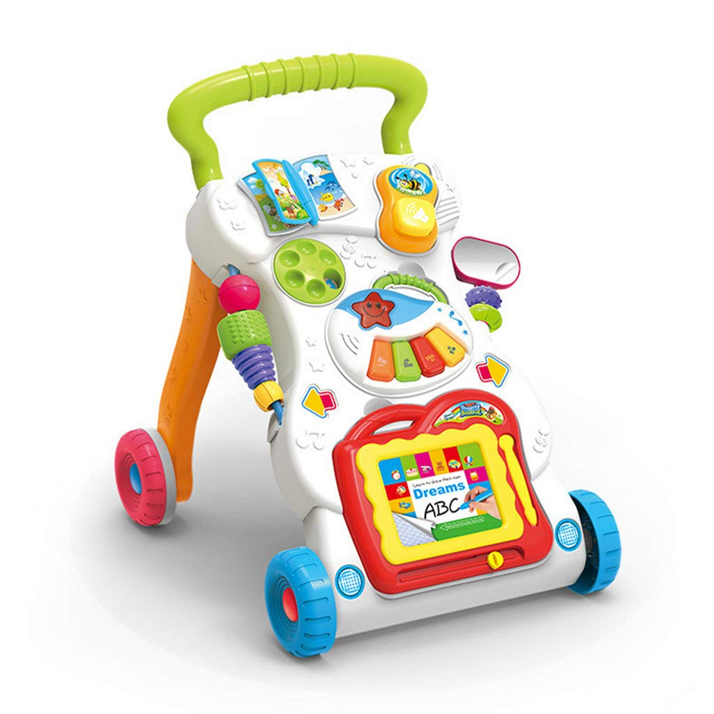 Meen Andador De Bebe, Educación Temprana Puzzle Trolley para Niños ...