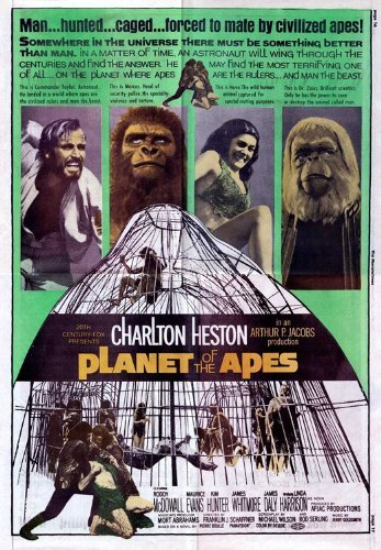 Planet of the Apes POSTER Movie
