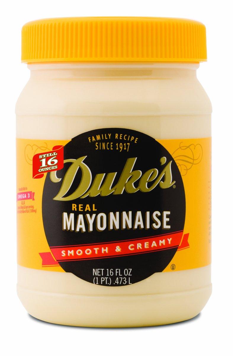 Duke's Mayonnaise, 16-Ounce Jars (Pack of 12)