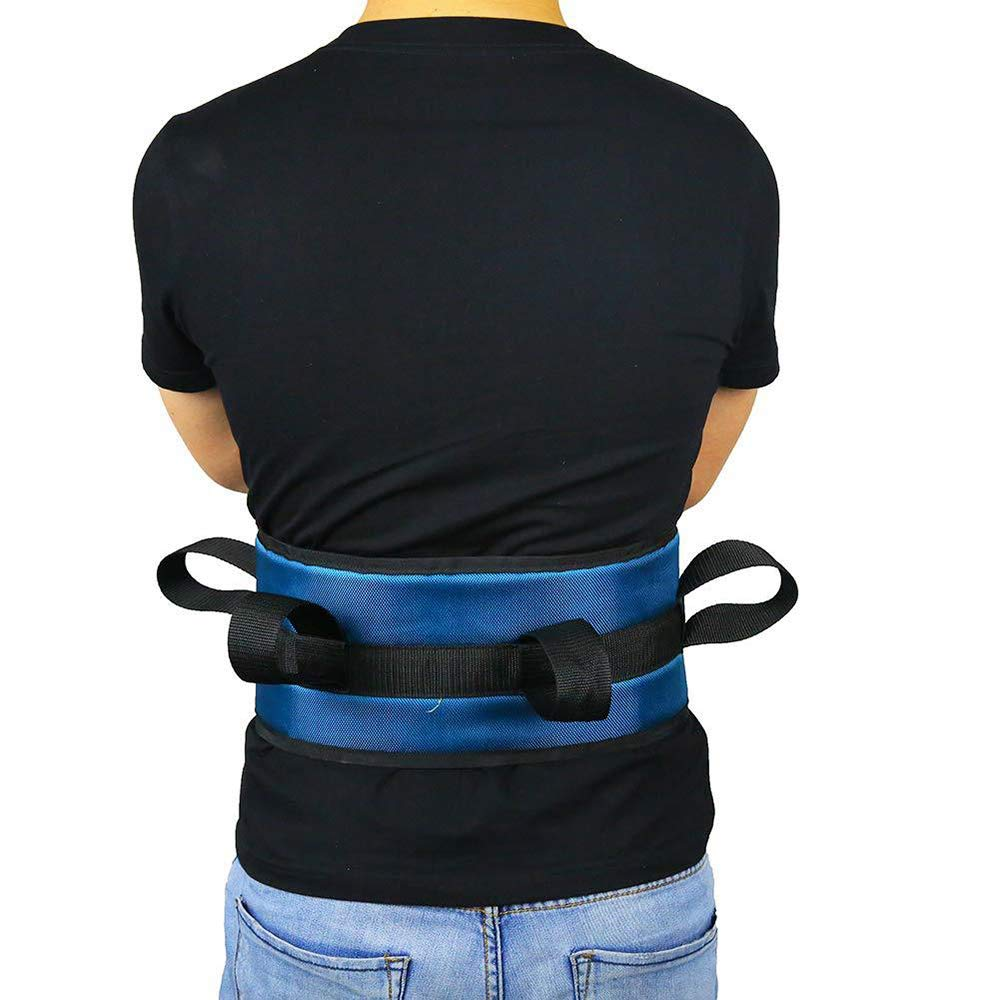CHAOLIU Transfer Sling - Moving Assist Hoist Gait Belt Harness Device with Heavy Duty 400lb Weight Capacity, Padded Handles, Extended Length & Width - 8 x 26 by CHAOLIU
