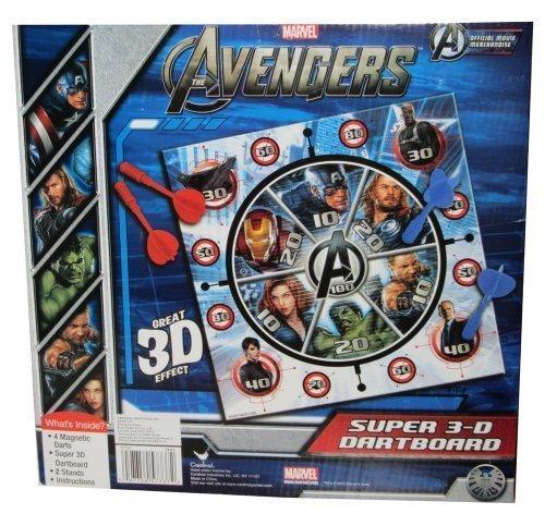 Cardinal Games Avengers 3D Magnetic Dartboard (Set Cardinals Dartboard)