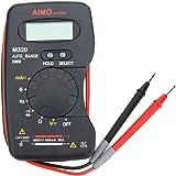 KKmoon AIMO M320 Pocket Size Handheld LCD Digital Multimeter DMM Frequency Capacitance Measurement Data Hold Auto Range