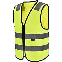 Chalecos de seguridad Alta Visibilidad (XXS, Amarillo)