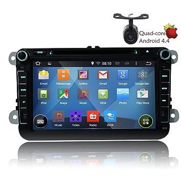 Eincar GA5153W 8 pulgadas de coches GPS Radio CD est¨¦reo reproductor de DVD