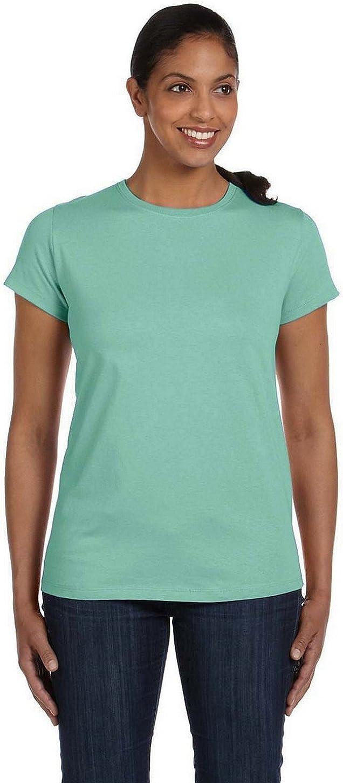 TALLA 3XL. Hanes - Camiseta sin Etiqueta para Mujer