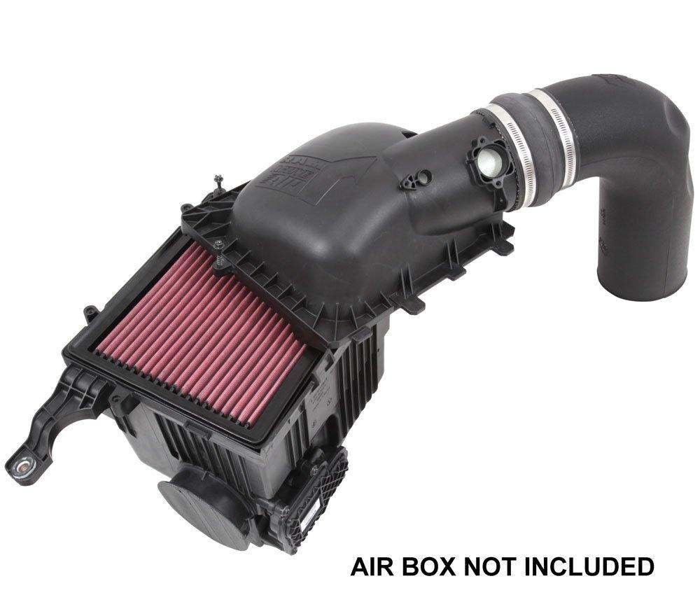 K/&N Performance Cold Air Intake Kit 77-1568KTK with Lifetime Filter for Dodge Ram 2500//3500 6.4L V8