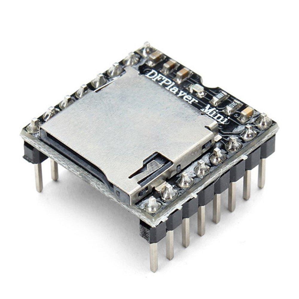 SODIAL DFPlayer Mini MP3 Player Module For Arduino Black 127343