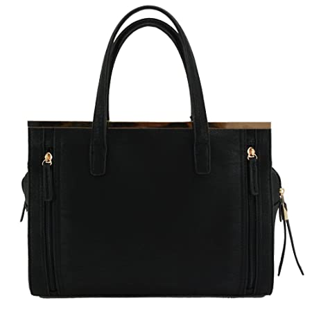 e9290606178 Amazon.com  Strategic Cutting Edge Group 49077 Cora Concealed Carry Purse   Black  Home   Kitchen