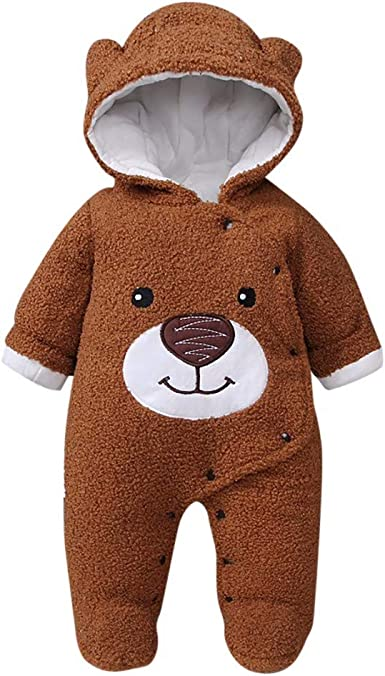 PORRO Baby Boys Girls Round Neck Short-Sleeve Romper We Bare Bears Funny Crawling Suit Black