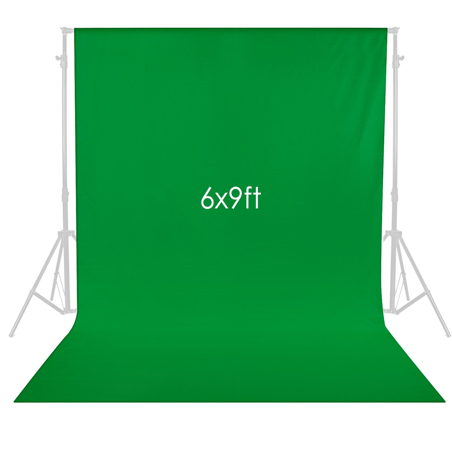 Neewer 6 x 9 feet/1.8 x 2.8 meters Photography Background Photo Video Studio Fabric Backdrop Background Screen (Green) by Neewer