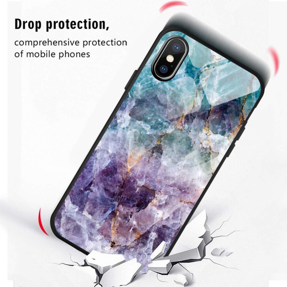 Amazon.com: KCHHA Phone case Tempered Glass for Huawei Nova ...