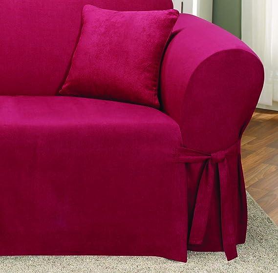 Amazon.com: Sure Fit Soft Suede - Funda para sofá, color ...