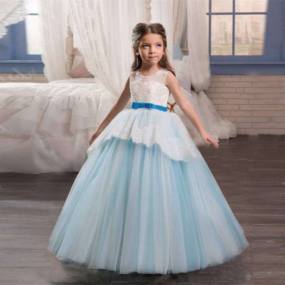 K-youth Vestido para Niñas, Vestido de Fiesta Niñas Tutú Princesa ...