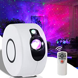 COOZOOM Galaxy Projector Star Projector Nebula Starry Night Light Show Led Sky Light Projector for Bedroom Adults Room Home Party Decoration