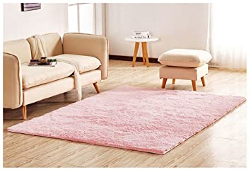 Amazon.com: Hair Floor Rug Thick Super Soft Shaggy Rugs and Carpets ...