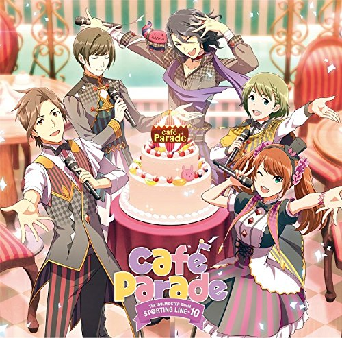 THE IDOLM@STER SideM ST@RTING LINE 10 Cafe Parade