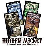 Set of 4 HIDDEN MICKEY Signed Paperback novels about Walt Disney and Disneyland