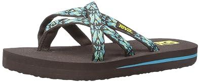 Teva Olowahu Fashion Sandal (Little Kid/Big Kid), Hazel/Chocolate/