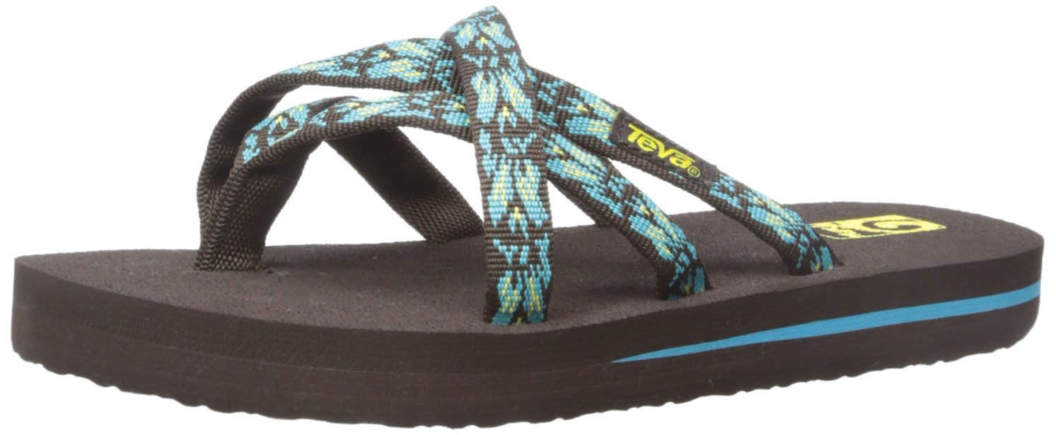 19c1f5aab8de30 Galleon - Teva Olowahu Fashion Sandal (Little Kid Big Kid)