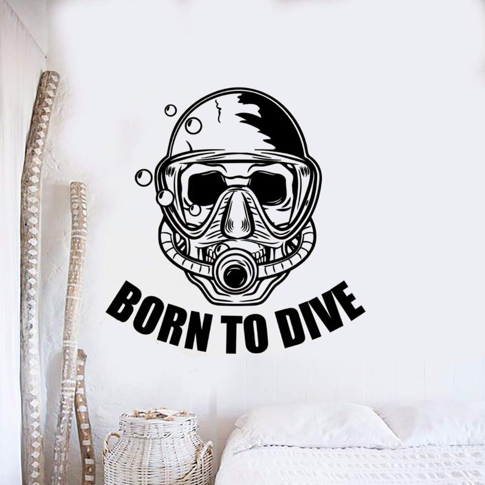 haotong11 Scuba Diving Tatuajes de Pared Club de Buceo Decoración ...