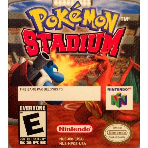 Nintendo 64 Pokemon Stadium Battle Set