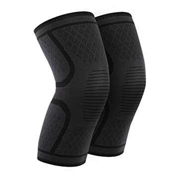 58bf94cf31 1 Pair Knee Compression Sleeves Warm Keeping Joint Injury Recovery Aid  Arthritis Pain Relief Brace Sports