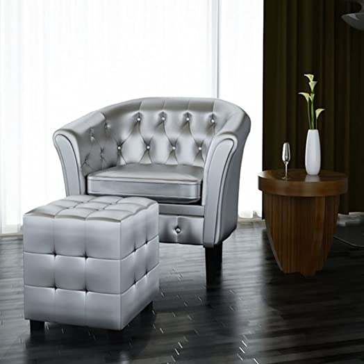 Tidyard Vintage Leather Armchairs Tub Chair Review