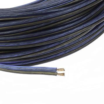 Voodoo blau schwarz Lautsprecher Draht 16 Gauge True AWG True Spec ...