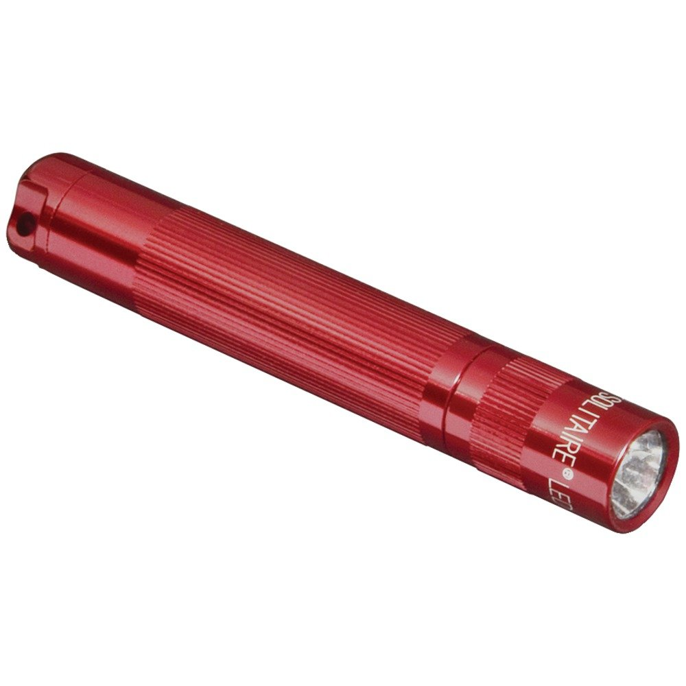 MAGLITE SJ3A036 37-Lumen MAGLITE(R) LED Solitaire (Red) Camping,Hiking,Travel by MagLite