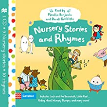 Nursery Stories and Rhymes Audiobook by  Campbell Books Narrated by Derek Griffiths, Floella Benjamin