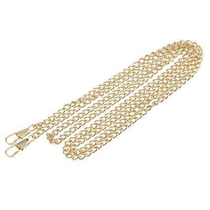 38ad8a338f MagiDeal Metal Skinny Bag Chain Strap Replacement for Handbag Crossbody Bag  Shoulder Bag 120cm - Gold  Amazon.co.uk  Kitchen   Home