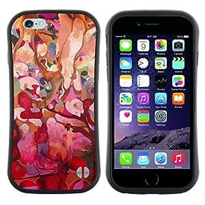 "Pulsar iFace Series Tpu silicona Carcasa Funda Case para Apple (4.7 inches!!!) iPhone 6 / 6S (4.7 INCH) , Floral rosado Árbol Primavera Pascua"""