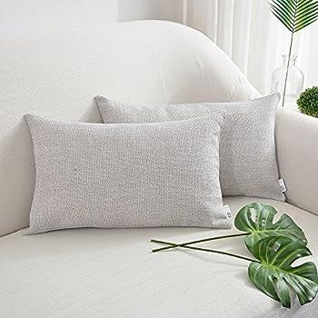Amazon.com: NATUS WEAVER - Funda de almohada de lino suave ...