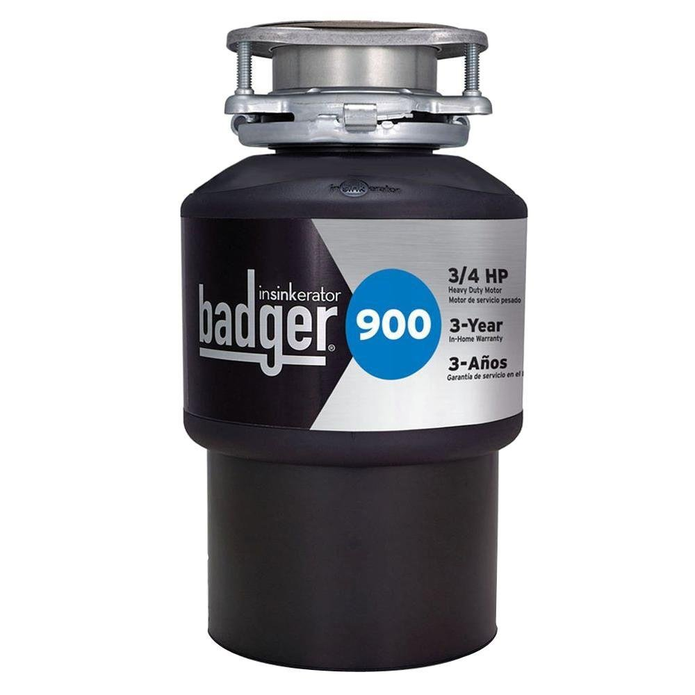 InSinkErator Badger 900 3/4 HP Continuous Feed Garbage Disposer