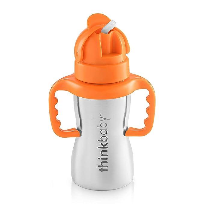 Amazon.com: Thinkbaby Thinkster Botella de acero inoxidable ...