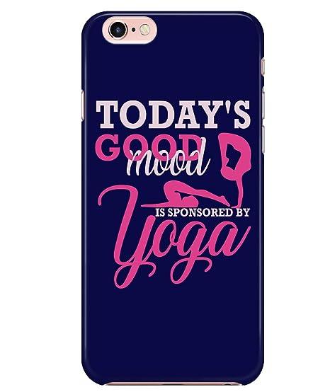 Amazon.com: iPhone 7/7s/8 Case, I Love Yoga Case for Apple ...