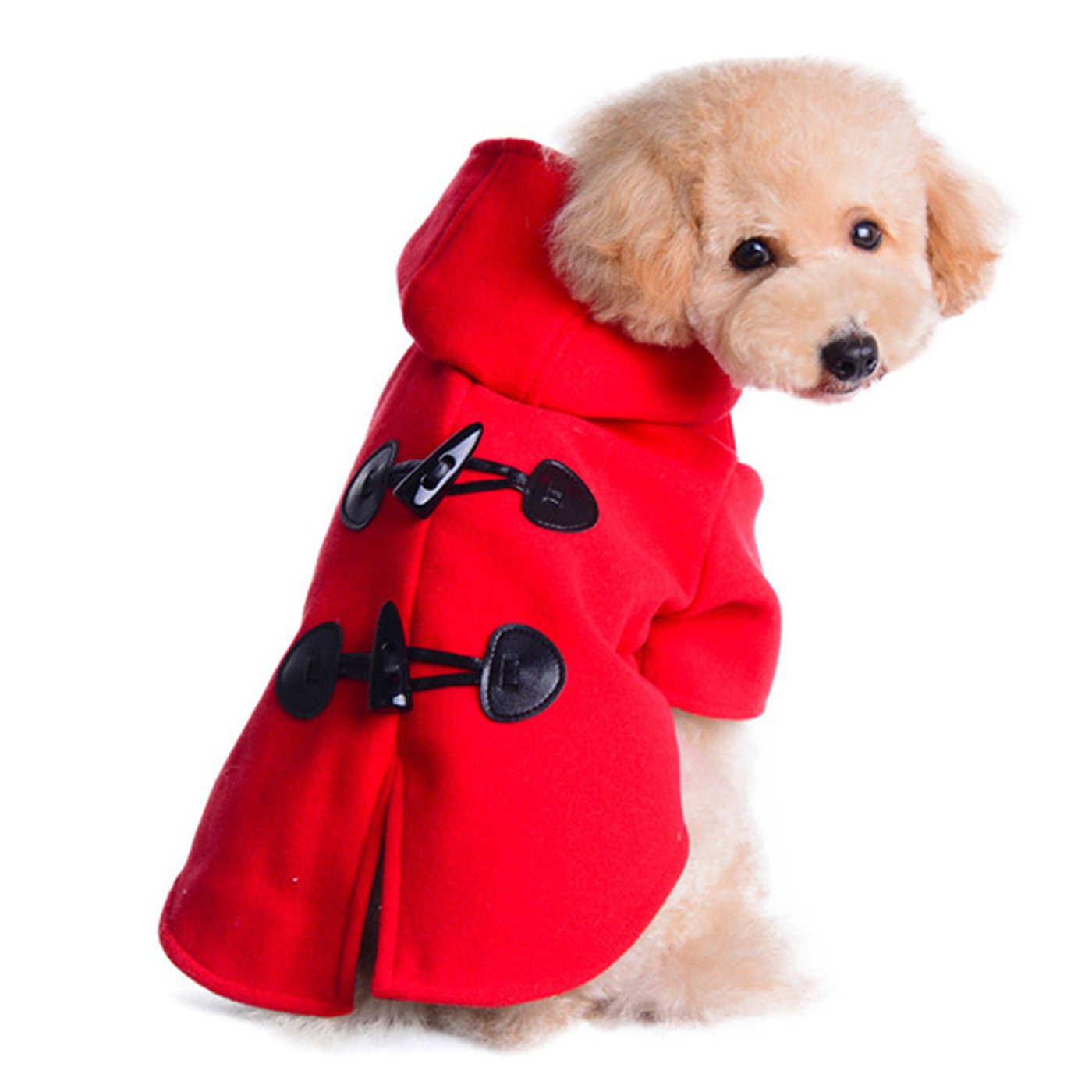 Alfie Pet by Petoga Couture - Meave Coat - Color: Red, Size: L