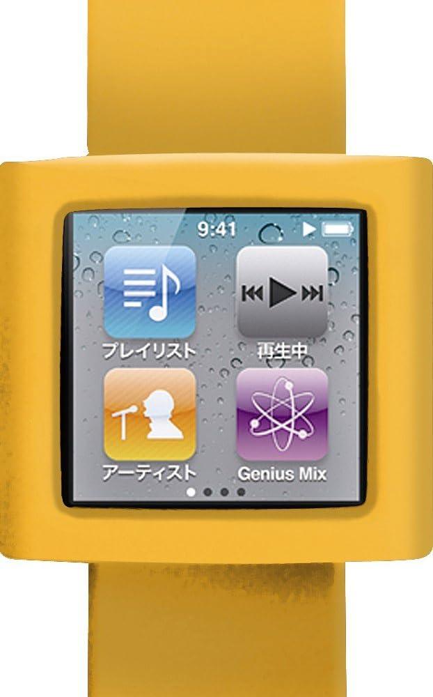 第6世代ipod nano専用 style Case nano (ネーブルオレンジ)