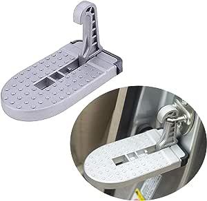 Lfotpp Vitara Jimny Pedal plegable para puerta de coche, aleación de aluminio, con gancho