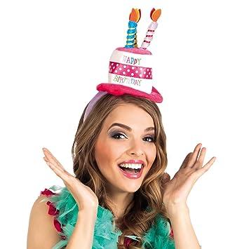 NET TOYS Sombrero de Cumpleaños | Banda de Pelo con ...