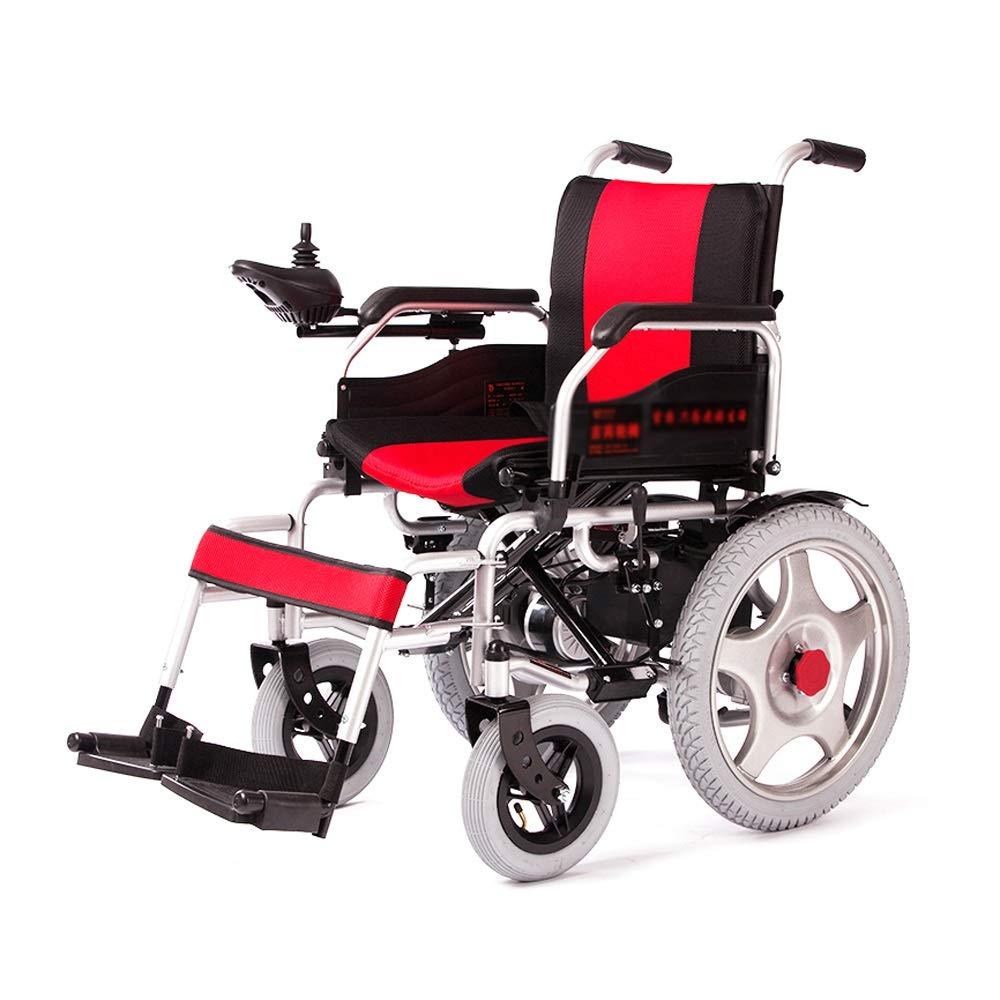 車いす 電動車いす、高齢者用折り畳み式車椅子、携帯型4輪介助車   B07H7LFP41