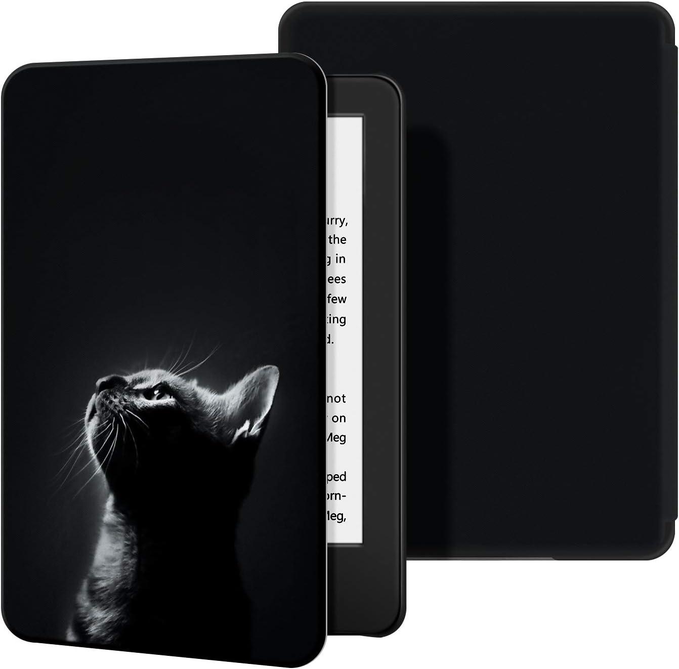 10/ª generaci/ón, versi/ón 2019 - Funda de Cuero de PU Compatible con el Kindle 2019 de Estuche OLAIKE para Kindle no encajar/á con Kindle Paperwhite o Kindle Oasis ,The Natura Book