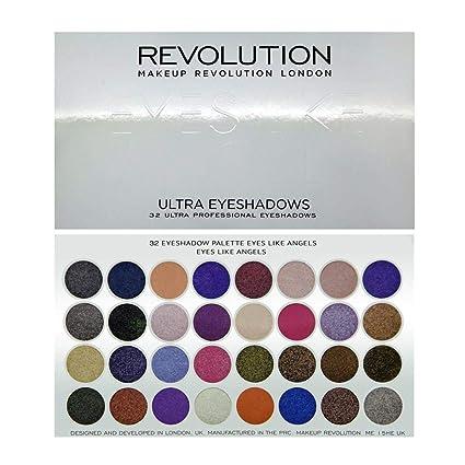 Buy Makeup Revolution London 32 Eyeshadow Palette Eyes Like Angels ... bfe5bef23edd7