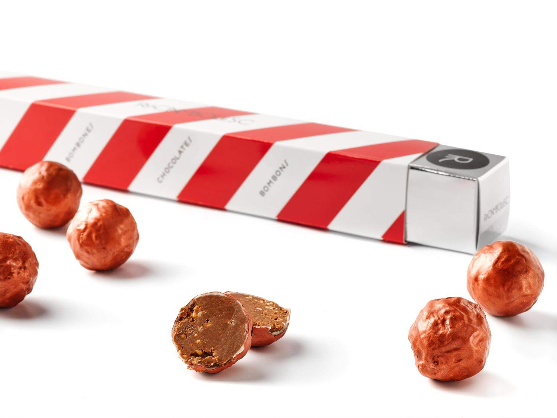 Rocambolesc - Bombón Cobre de Chocolate con Leche, Avellanas ...