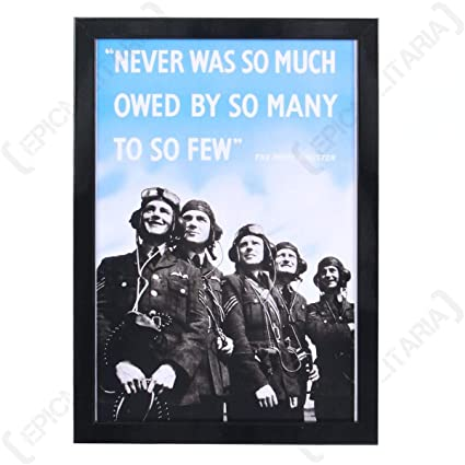Amazon com: Epic Militaria WW2 RAF Framed Print: Posters & Prints