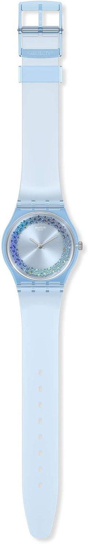 Swatch Reloj Analógico para Mujer de Cuarzo con Correa en plástico GL122