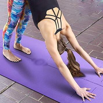 GTT Esteras de Yoga para Hombres y Mujeres Principiantes ...