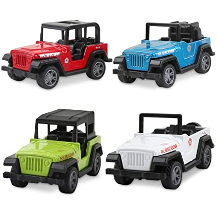 Amazon Com Jeep Toys Pull Back Vehicles Jeep Toy Model Vehicles