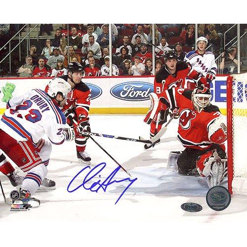 - NHL New York Rangers Chris Drury Game Tying Goal vs. Devils Photograph, 6x20-Inch